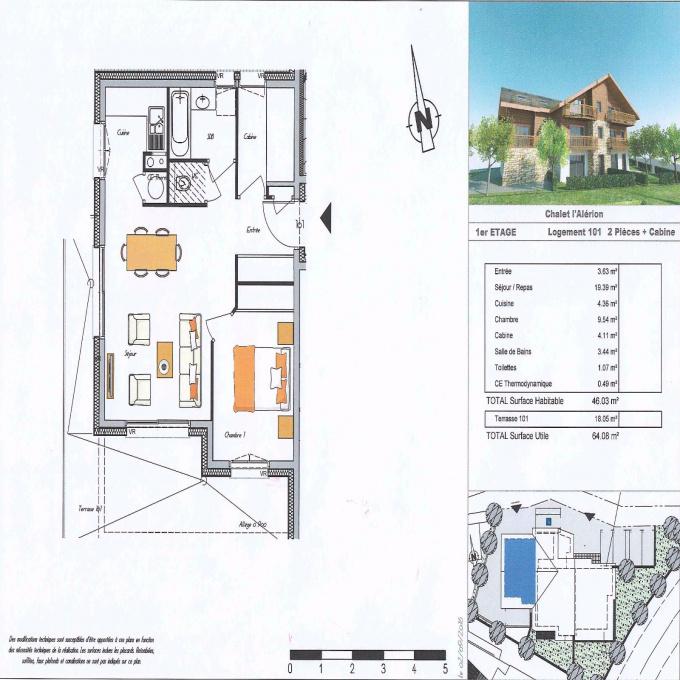 Programme neuf Appartement Le Monêtier-les-Bains (05220)